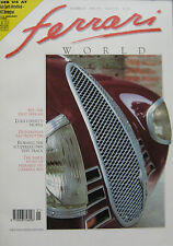 Ferrari World magazine Issue 16 January/February 1992 815 Auto Avio Construzioni