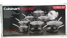 Cuisinart Chef's Classic Cookware Set 17 Piece Non Stick Hard Anodized 66-17N