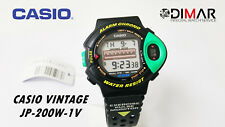 VINTAGE CASIO JP-200W-1V SPORT HEART RATE MONITOR QW.1009 YEAR 1992 WR.50m