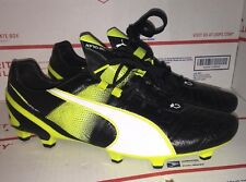 PUMA King II SL FG Soccer Shoe Cleats Yellow Mens Size 11.5 Super Light