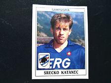 Figurina Calciatori Panini 1989/90 n°291 Katanec Sampdoria recuperata