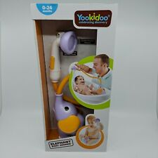 Yookidoo Elephant Baby Shower Water Pump and Trunk Spout Bath Toy NIB NEW