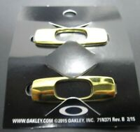 Oakley Batwolf Sunglasses Replacement O Icons Polished Gold Authentic Pair New