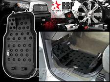 RBP BLACK ALUMINUM OFF ROAD DIMPLE DESIGN FLOOR MAT FOR NISSAN INFINITI SUBARU