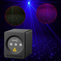 Suny Mini Portable Laser Projector Lights Rechargeable Rgb