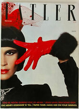 TATLER Magazine Vol 278 No 8 September 1983 Jasper Conran Fur Cuff cover