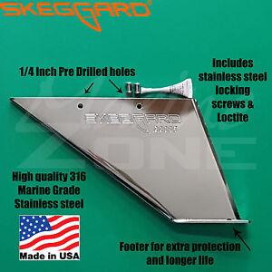 SKEGGARD for Mercruisers inboard STERNLEG DRIVES  Alpha  / Bravo 1  3 skeg guard