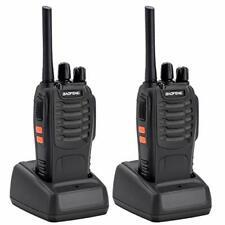 Imurz Walkie Talkies BF-888S Recargable de largo alcance de radio de dos vías 16CH walky