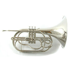 Schiller Field Series Marching French Horn Nickel
