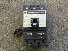 Square D Circuit Breaker 125 Amp 600V 3 Pole Kal361251021 120/208/240 Shunt Trip