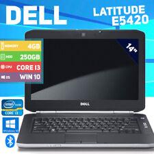 Dell Latitude E5420 Laptop - Win 10 - Core i3 - 250GB HDD - 4GB memory