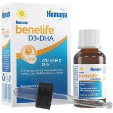 Humana Benelife Vitamin D3 + DHA 15ml for baby supplement