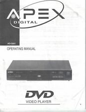 Apex digital ebay apex digital dvd video player ad 3201 operating manual users guide fandeluxe Image collections