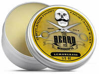Lemongrass Moustache Wax (15ml) Premium Strong for styling, twists & curls