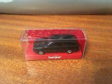 1/87 Scale 'HO' Herpa 3036 BMW E30 Estate - Black - Boxed