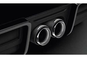 MINI F55 F56 F57 JCW Tail Pipe End Cover Carbon Genuine 18302349677