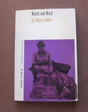 WATCH AND WARD by Henry James - 1st PB 1960 Evergreen review copy