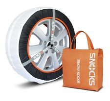 "SNOCKS Winter Tyre Snow & Ice Socks Fabric Chains 13""- 17"" Wheels 36m BRAND NEW"