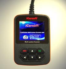 ICarsoft profundidades diagnóstico OBD escáner ABS, airbag, motor apto para ford fiesta