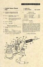Official Tattoo Machine US Patent Art Print - Tattooist Gun Vintage Antique 505