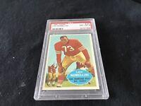 1960 TOPPS # 121 Leo Nomellini  PSA 8, HOF, S.F.49ers, University of Minnesota