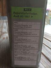 Audi A3 8L Reparaturleitfaden Motronic, Einspritz und Zündanlage 6 Hefte Box