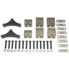 "DOUBLE AXLE TRAILER HANGER KIT FOR 1-3/4"" DOUBLE-EYE SPRINGS 2000-7000 LB"