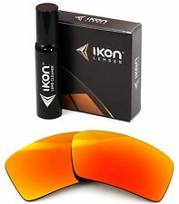 Polarized IKON Replacement Lenses For Von Zipper Snark - Fire Orange