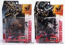 Transformers Takara Age of Extinction Dinobot EX Black Knight Slug+Scorn
