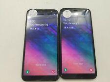 Lot of 2 Samsung Galaxy A6 A600Az Cricket Check Imei Poor Condition Hs-615