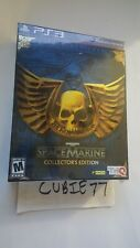 Warhammer 40k 40,000: Space Marine Collector's Edition (Playstation 3, PS3) NEW