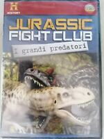 JURASSIC FIGHT CLUB i grandi predatori  DVD nuovo