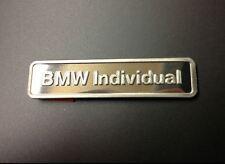Genuine BMW Individual Lettering Badge Emblem Plaque original