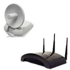 WiFi Hi-Gain Dual Radio Smart Repeater and USB Dish Adapter Combo (HW2R1+HWDN2)