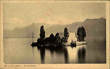 GENF Schweiz Lac Léman Ile Clarens alte AK E. Haissly Suisse Switzerland ~1910