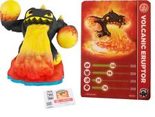 Skylanders Swap Force VOLCANIC ERUPTOR Figure w/ Sticker, Card & Code Pack Set