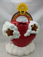"""Care Bears Care-a-Lot Heart Storage Case 15"""" 1983 American Greetings"""
