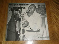 BIG JAY MCNEELY / ROAD HOUSE BOOGIE 1949-52 ~ AUTOGRAPHED Orig Album ~ NEAR MINT