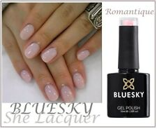 Bluesky ROMANTIQUE PINK NUDE FRENCH  MANICURE UV/LED Gel Nail Polish NEW