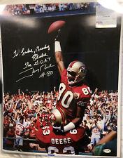 Jerry Rice Autograph PSA/DNA JSA COA 16x20 Photo Signed Authenticated 49ers!!