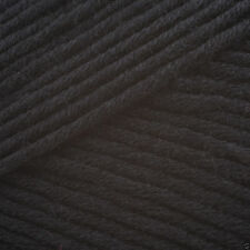 King Cole BAMBOO Cotton DK Knitting Wool / Yarn 100g - 534 Black