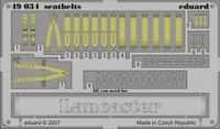 Eduard 1/48 Avro Lancaster seatbelts PRE-PAINTED IN COLOUR! # 49