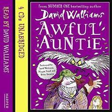 Awful Auntie by David Walliams (CD-Audio, 2014)