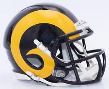 ST. LOUIS RAMS NFL Riddell SPEED Mini Football Helmet