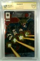 Bloodshot #0 RAI Chromium Cover CBCS 9.6 Vin Diesel New Movie! SIGNED BOB LAYTON