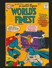 World's Finest Comics # 88 - 1st Joker/Luthor team-up VG Cond.