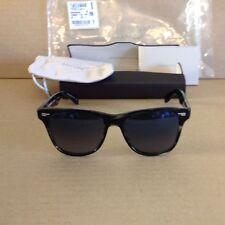 Oliver Peoples Lou 54 Sunglasses Black Horn/Blue Gradient Photochromatic Lens