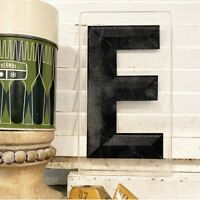 Vintage Acrylic Marquee Letter E Sign Plastic Display Retro Industrial