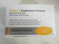 Menscience EPA/DHA Omega 3 Supplement Formula 60 Capsules 6/20