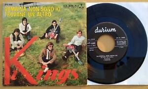 I KINGS Bambina non sono..ITALY BEAT Original 1966 FREAKBEAT-GARAGE-PUNK N.MINT!